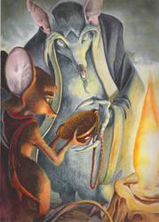 The Secret of NIMH by Luzerrante