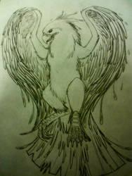 Phoenix Tattoo by Wixner