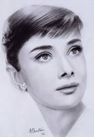 Audrey Hepburn by Aj3sh