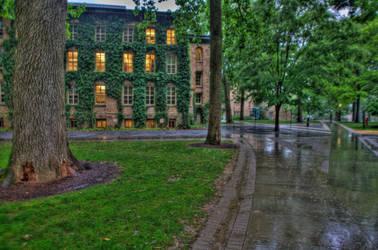 Campus Flood by ebbixx