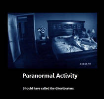 Paranormal Activity by JudgeChaos