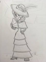 Calavera Catrina Sketch by JudgeChaos