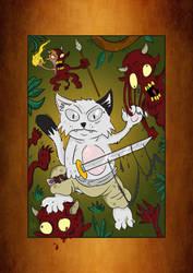 Gendgi the cat VS Evil Imps by Gendgi