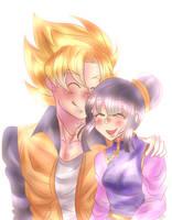 Goku x Chi-chi by dbz-senpai