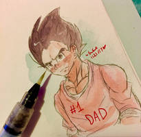 so much dadness by dbz-senpai
