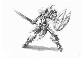 Skeleton by Strunzi
