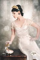vintage wedding editorial no.2 by snottling1