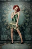 Selfportrait - art nouveau by snottling1