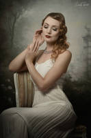 portrait of Elaine Valerie by snottling1