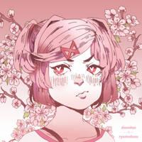 Natsuki (DDLC) by Ryomelons