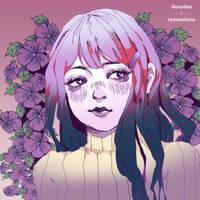 Yuri (DDLC) by Ryomelons