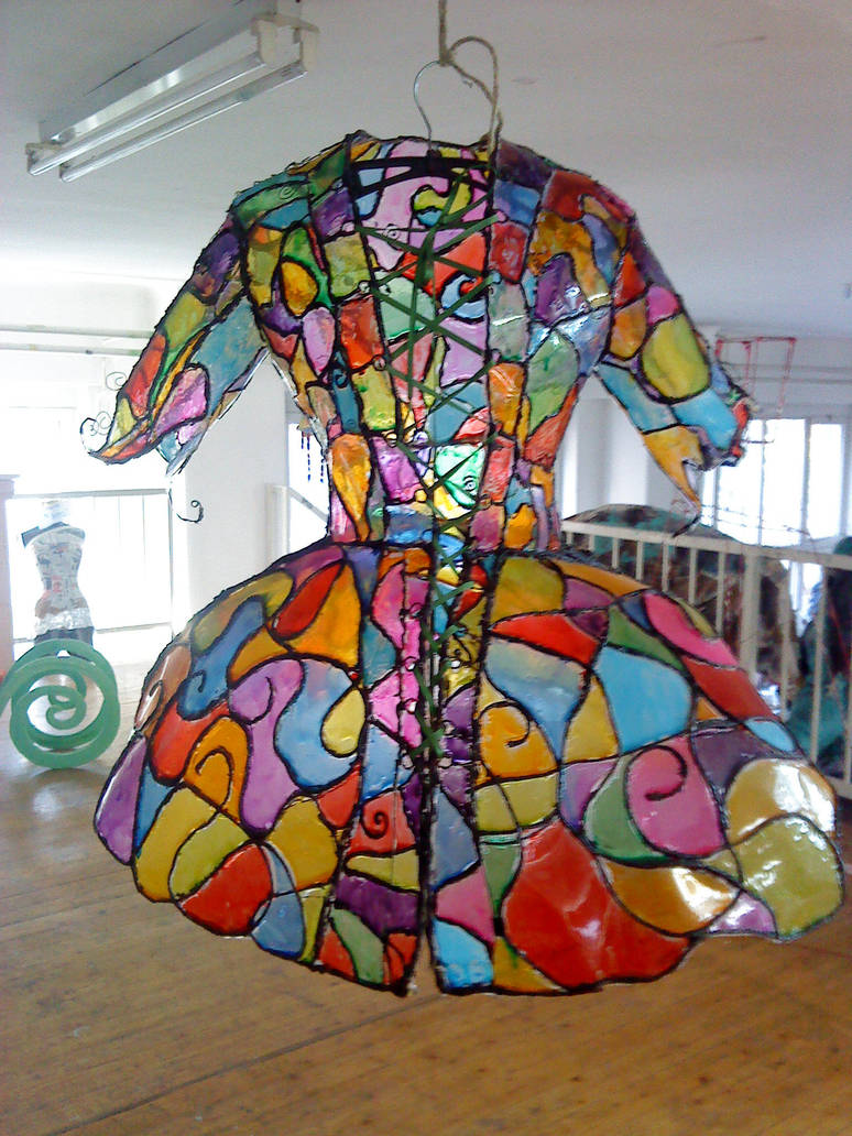 Vitrage Dress Front by AquaGanymedes