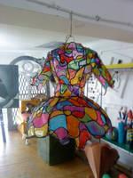 Vitrage Dress Back by AquaGanymedes