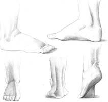 Foot study by AquaGanymedes