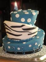 My birthday cake :D by AquaGanymedes