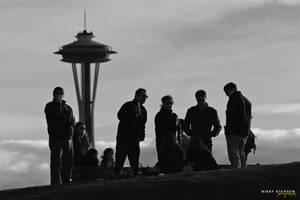 Gasworks Park, Seattle by djniks97