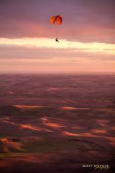 Paragliding in the Palouse by djniks97