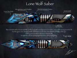 lone wolf saber consept by joshsmithstudio