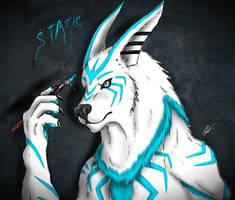 static badge by joshsmithstudio