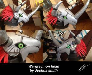 Waregreymon head by joshsmithstudio