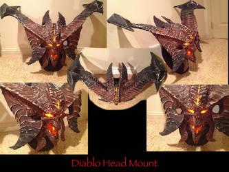 Diablo Head mount by joshsmithstudio