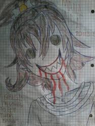 mana aida zombie by metal-slug-233