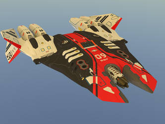 Phallanx Tactical Battle Drone by Scifiwarships