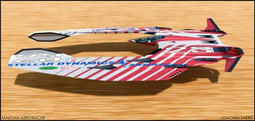 Martian Aeroracer23 by Scifiwarships