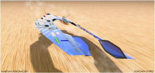 Martian Aeroracer Speed2 by Scifiwarships