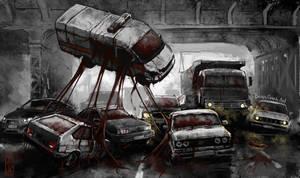 traffic by BorisGrohArt