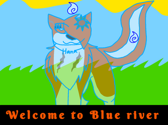 Leader of Blue river by ShadowTheLeader