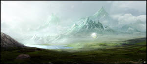 nowhere land - speed painting by jamga