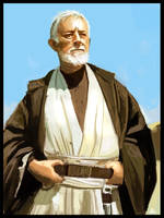 Star wars - The Old Ben by jamga
