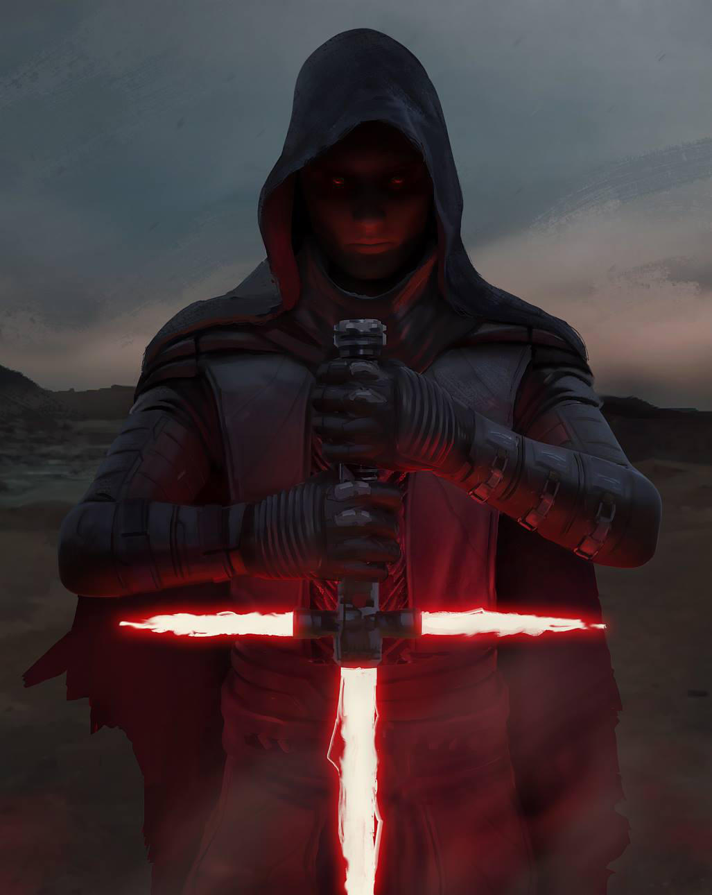Sith lord ep7 FAN ART by jamga