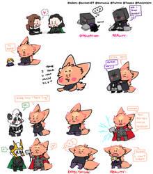 Tiny Crayon Cheeb Compilation by Kinjiinto