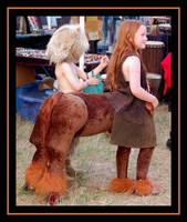 Little Centaur by Tarotshama