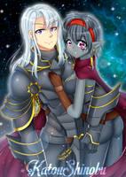 [Commission]: Hastor and Nisha by KatouShinobu