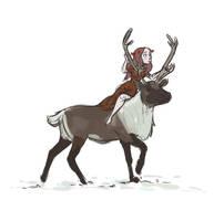 Caribou by trufflefunk
