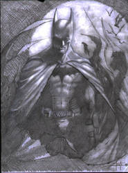 my batman 1 by LucaStrati