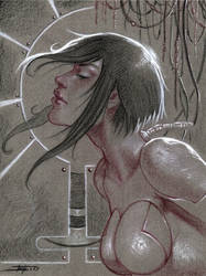 Ghost In The Shell tribute by LucaStrati