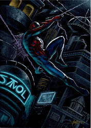 Spider Man 2099 by LucaStrati
