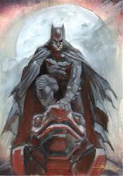 Bat sketch by LucaStrati