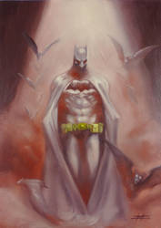 Batman Rises by LucaStrati