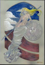 Athena by LucaStrati