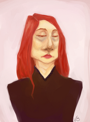 A Portrait by kaupaint