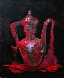 Bleeding Lamp by kaupaint