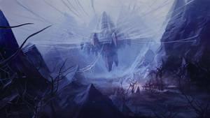 tarantulas lair by jameswolf
