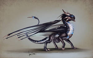 Delve Dragon by jameswolf