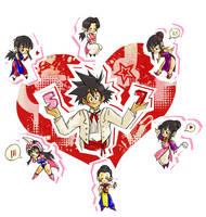 57 +heart by dbleeper