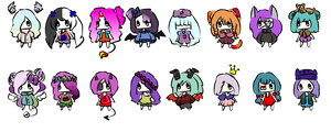 Adopts Batch 19 - 10 Points Each by princeadopt